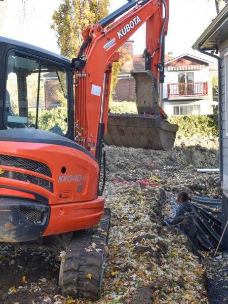 Excavation, Groupe Héritage