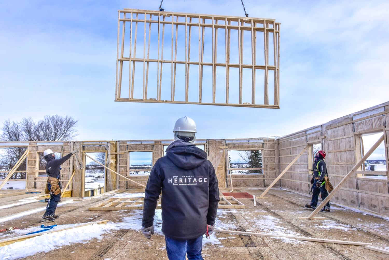 Groupe Héritage - Construction
